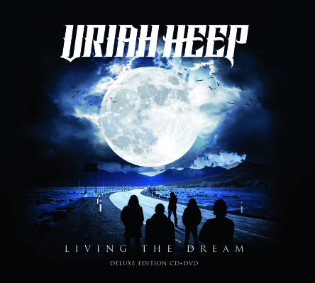 URIAH HEEP- The living dead CD+DVD