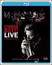 BOTTI CHRIS - LIVE WITH ORCHESTRA AND SPECIA
