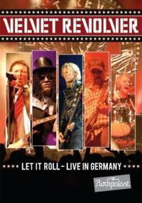 VELVET REVOLVER - Let it roll-Live in germany DVD