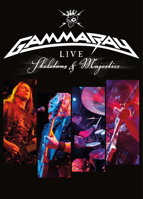 GAMMA RAY - Skeletons and majesties DVD