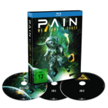 PAIN - We come in peace BLURAY+2CD