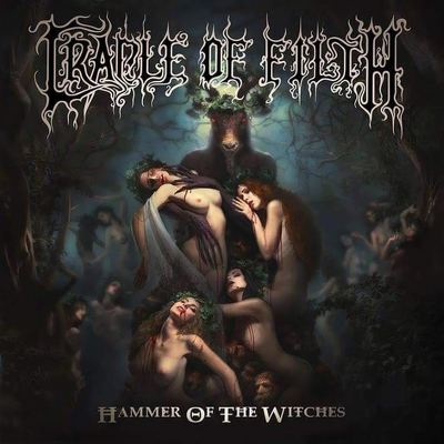 CRADLE OF FILTH - Hammer of the witches DIGIPACK