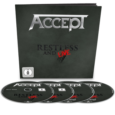 ACCEPT - Restless and live EARBOOK