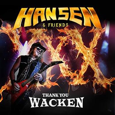 HANSEN - Thank you Wacken CD+DVD
