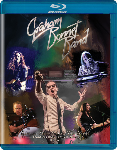 BONNET GRAHAM - Live here comes the night BLURAY+CD