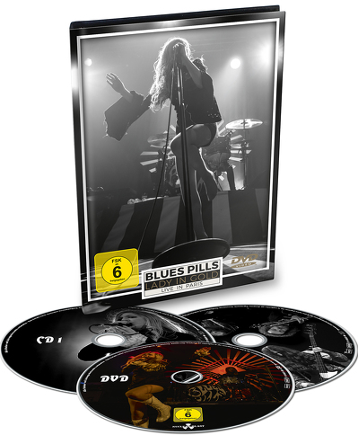 BLUES PILLS - Lady in gold : live in Paris DVD