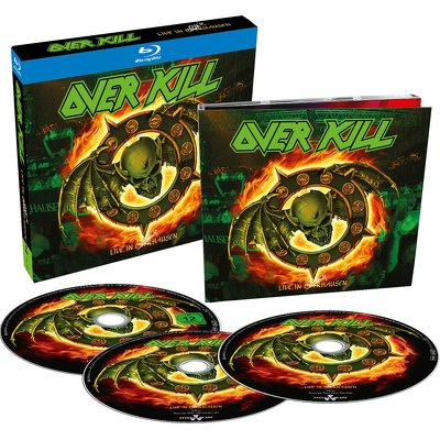 OVERKILL - Live in Overhausen BLURAY+2CD