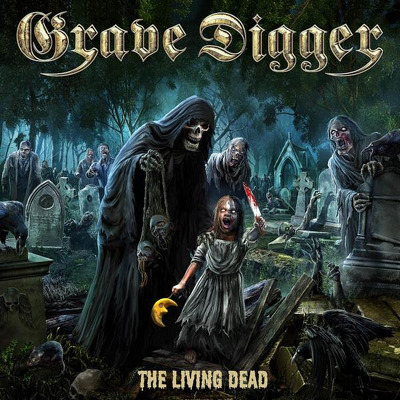 GRAVE DIGGER - The living dead DIGIPACK