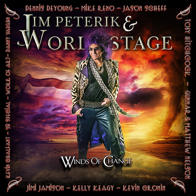 PETERIK JIM & WORLD STAGE- Winds of vhange