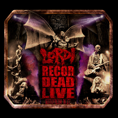 LORDI - Recorded live sextourcism BLURAY+2CD