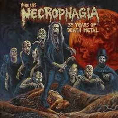 NECROPHAGIA - Here lies Necrophagia