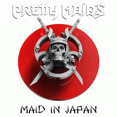 PRETTY MAIDS - Maid in Japan Future world CD+DVD