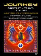 JOURNEY - GREATEST HITS DVD 1978-1997