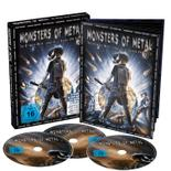 VARIOUS - Monsters of metal vol.8 - 2DVD+BLURAY