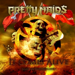 PRETTY MAIDS - It comes alive - DVD+2CD