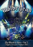 MOTORHEAD - World is ours vol.2 DVD+2CD