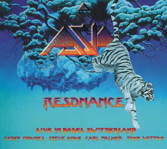 ASIA - Resonance DVD+2CD