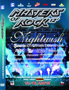 MASTERS OF ROCK 2012 - 2-DVD