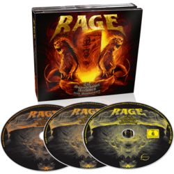 RAGE - Soundchaser archives 2CD+DVD