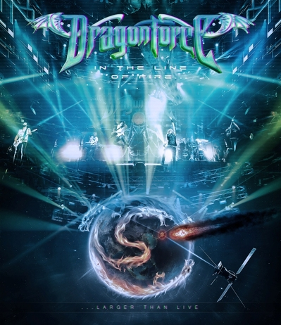 DRAGONFORCE - In the line of fire BLURAY