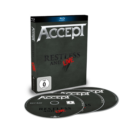 ACCEPT - Restless and live BLURAY+2CD