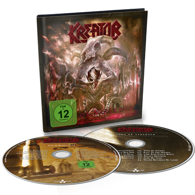 KREATOR - Gods and violence DVD+CD