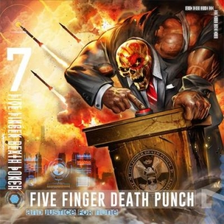 FIVE FINGER DEATH PUNCH - And justice fór none