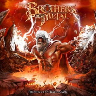 BROTHERS IN ARMS - Prophecy ragnarock DIGIPACK