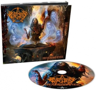 BURNING WITCHES- Hecenhammer DIGIPACK
