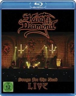KING DIAMOND - Songs for the dead live BLURAY