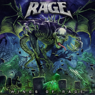 RAGE - Wings of rage DIGIPACK