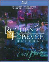 RETURN TO FOREVER / LIVE AT