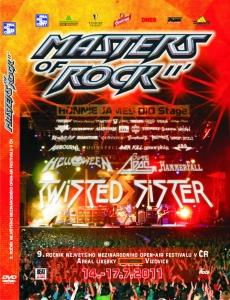 MASTERS OF ROCK 2011 - DVD