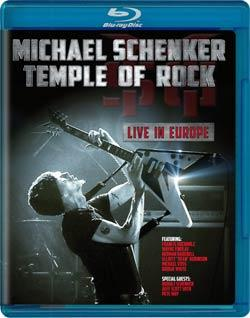 SCHENKER MICHAEL - Temple of rock BLUERAY DISC