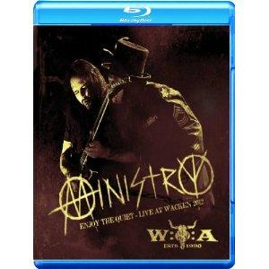 MINISTRY - Enjoy the quiet - Live at Wacken 2012 BLUERAY