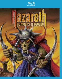 NAZARETH - No means of escape BLURAY