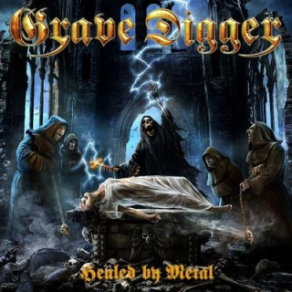 GRAVE DIGGER - Healed by metal DIGIPACK