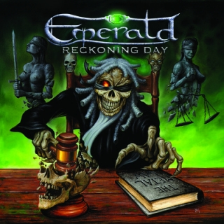 EMERALD - Reckoning day DIGIPACK