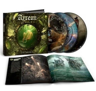 AYREON - Source 2CD+DVD