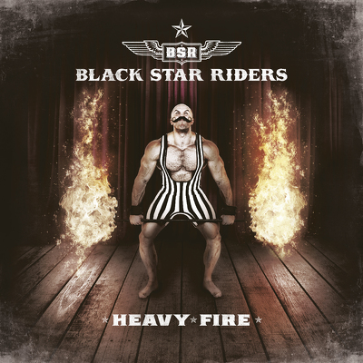 BLACK STAR RIDERS - Heavy fire DIGIPACK