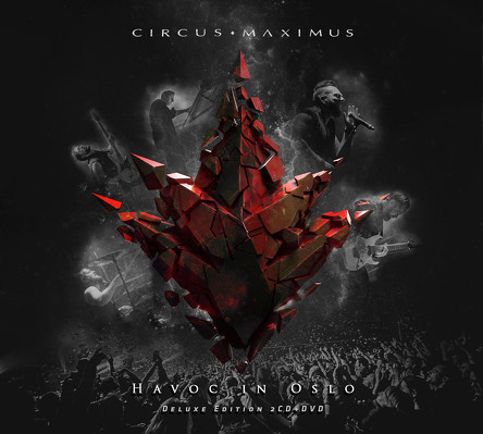 CIRCUS MAXIMUS - Havoc in Oslo BLURAY +2CD