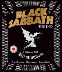 BLACK SABBATH - The end BLURAY