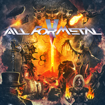 VARIOUS - All for metal vol.5 DVD+CD