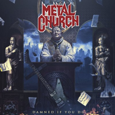 METAL CHURCH- Damned if you do DIGIPACK