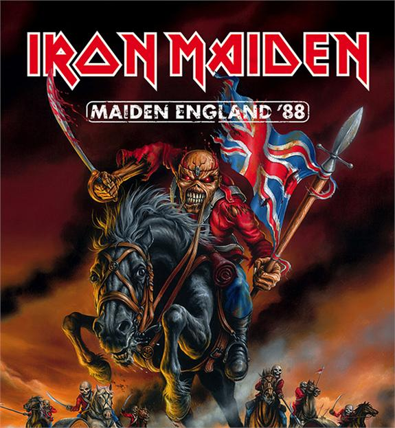 IRON MAIDEN - Maiden england 2CD