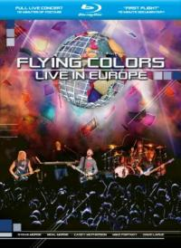 FLYING COLORS - Live in Europe BLUERAY