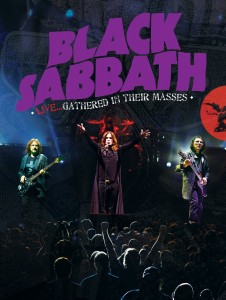BLACK SABBATH - Live Gathered in their masses DVD