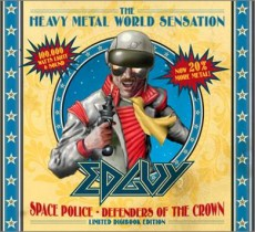 EDGUY - Space police - defenders of the crown 2CD DIGIBOOK