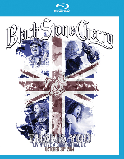 BLACK STONE CHERRY Livin live Birmingham BLURAY