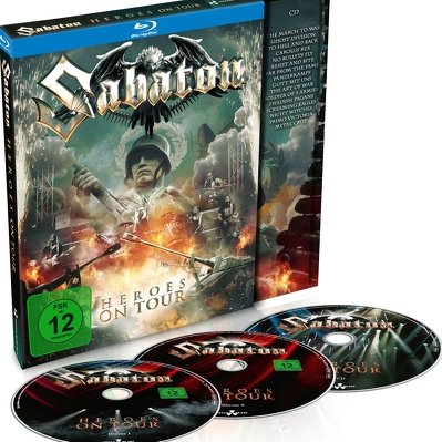 SABATON- Heroes on tour 2BLURAY+CD